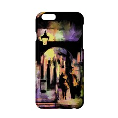 Street Colorful Abstract People Apple Iphone 6/6s Hardshell Case