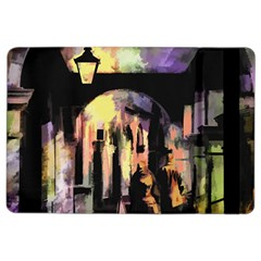 Street Colorful Abstract People Ipad Air 2 Flip