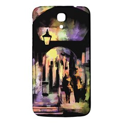 Street Colorful Abstract People Samsung Galaxy Mega I9200 Hardshell Back Case