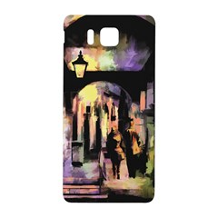 Street Colorful Abstract People Samsung Galaxy Alpha Hardshell Back Case