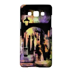 Street Colorful Abstract People Samsung Galaxy A5 Hardshell Case