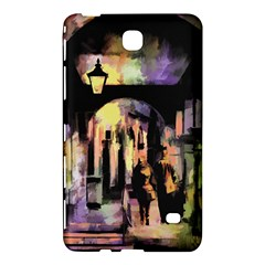 Street Colorful Abstract People Samsung Galaxy Tab 4 (7 ) Hardshell Case