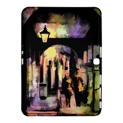 Street Colorful Abstract People Samsung Galaxy Tab 4 (10 1 ) Hardshell Case