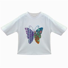 Vintage Style Floral Butterfly Infant/toddler T Shirts