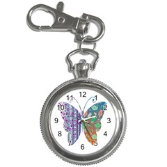 Vintage Style Floral Butterfly Key Chain Watches