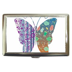 Vintage Style Floral Butterfly Cigarette Money Cases