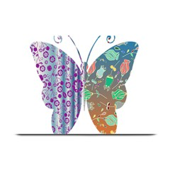 Vintage Style Floral Butterfly Plate Mats