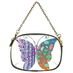 Vintage Style Floral Butterfly Chain Purses (one Side)