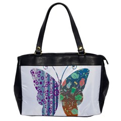 Vintage Style Floral Butterfly Office Handbags