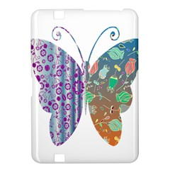 Vintage Style Floral Butterfly Kindle Fire Hd 8 9