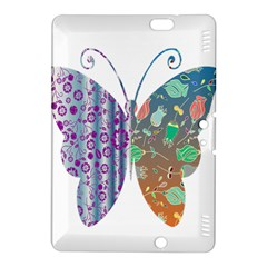 Vintage Style Floral Butterfly Kindle Fire Hdx 8 9  Hardshell Case