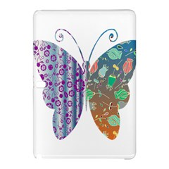 Vintage Style Floral Butterfly Samsung Galaxy Tab Pro 10 1 Hardshell Case