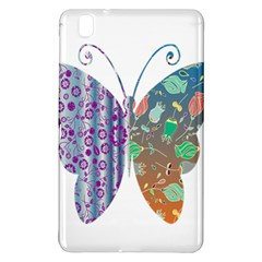 Vintage Style Floral Butterfly Samsung Galaxy Tab Pro 8 4 Hardshell Case