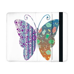Vintage Style Floral Butterfly Samsung Galaxy Tab Pro 8 4  Flip Case