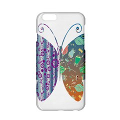Vintage Style Floral Butterfly Apple Iphone 6/6s Hardshell Case