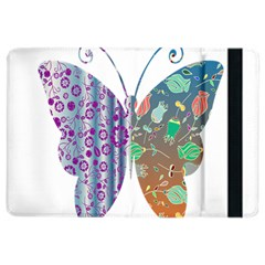 Vintage Style Floral Butterfly Ipad Air 2 Flip