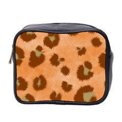 Seamless Tile Background Abstract Mini Toiletries Bag 2 Side