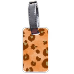 Seamless Tile Background Abstract Luggage Tags (one Side)