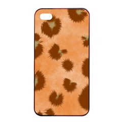 Seamless Tile Background Abstract Apple Iphone 4/4s Seamless Case (black)