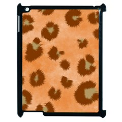Seamless Tile Background Abstract Apple Ipad 2 Case (black)