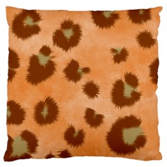 Seamless Tile Background Abstract Large Cushion Case (two Sides)