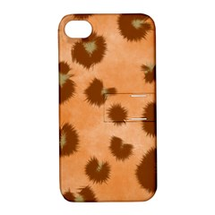 Seamless Tile Background Abstract Apple Iphone 4/4s Hardshell Case With Stand