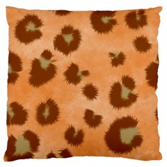 Seamless Tile Background Abstract Large Flano Cushion Case (one Side)