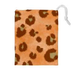 Seamless Tile Background Abstract Drawstring Pouches (extra Large)