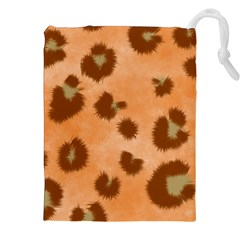Seamless Tile Background Abstract Drawstring Pouches (xxl)