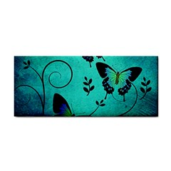 Texture Butterflies Background Cosmetic Storage Cases