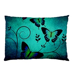 Texture Butterflies Background Pillow Case