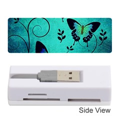Texture Butterflies Background Memory Card Reader (stick)