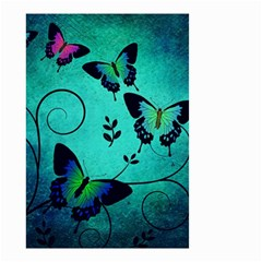 Texture Butterflies Background Small Garden Flag (two Sides)