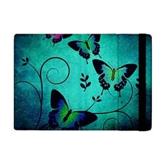 Texture Butterflies Background Apple Ipad Mini Flip Case