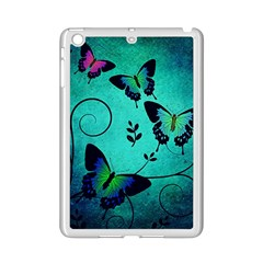 Texture Butterflies Background Ipad Mini 2 Enamel Coated Cases