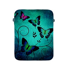 Texture Butterflies Background Apple Ipad 2/3/4 Protective Soft Cases