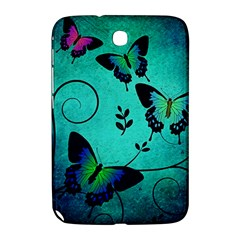 Texture Butterflies Background Samsung Galaxy Note 8 0 N5100 Hardshell Case