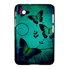 Texture Butterflies Background Samsung Galaxy Tab 2 (7 ) P3100 Hardshell Case