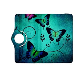 Texture Butterflies Background Kindle Fire Hdx 8 9  Flip 360 Case