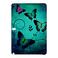 Texture Butterflies Background Samsung Galaxy Tab Pro 10 1 Hardshell Case