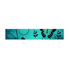 Texture Butterflies Background Flano Scarf (mini)