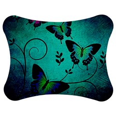 Texture Butterflies Background Jigsaw Puzzle Photo Stand (bow)