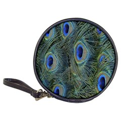 Peacock Feathers Blue Bird Nature Classic 20 Cd Wallets