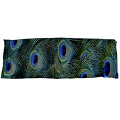Peacock Feathers Blue Bird Nature Body Pillow Case (dakimakura)