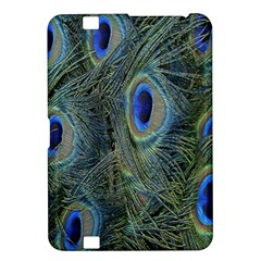 Peacock Feathers Blue Bird Nature Kindle Fire Hd 8 9
