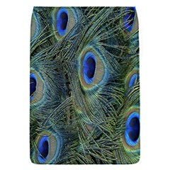 Peacock Feathers Blue Bird Nature Flap Covers (s)
