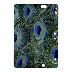 Peacock Feathers Blue Bird Nature Kindle Fire Hdx 8 9  Hardshell Case