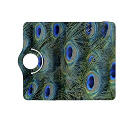 Peacock Feathers Blue Bird Nature Kindle Fire Hdx 8 9  Flip 360 Case