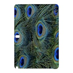 Peacock Feathers Blue Bird Nature Samsung Galaxy Tab Pro 10 1 Hardshell Case