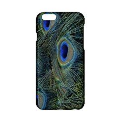 Peacock Feathers Blue Bird Nature Apple Iphone 6/6s Hardshell Case